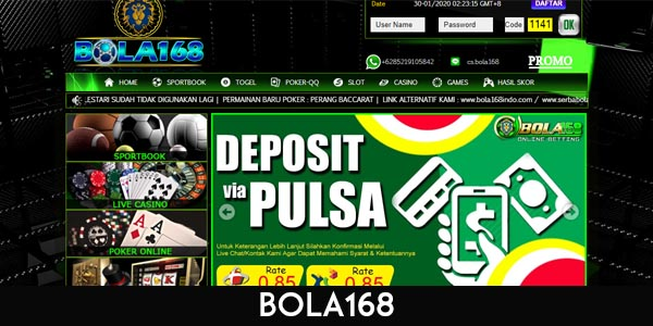 BOLA 168