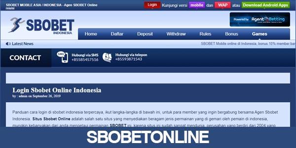 SBOBETONLINE