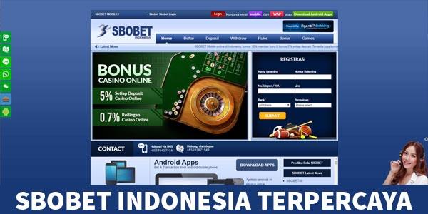 SBOBET INDONESIA TERPERCAYA