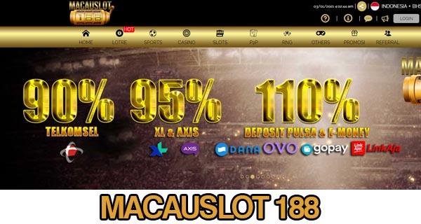 Link Alternatif MacauSlot188
